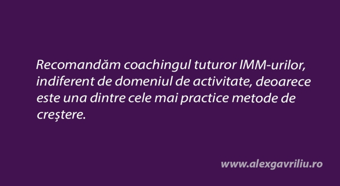 recomandam business coaching